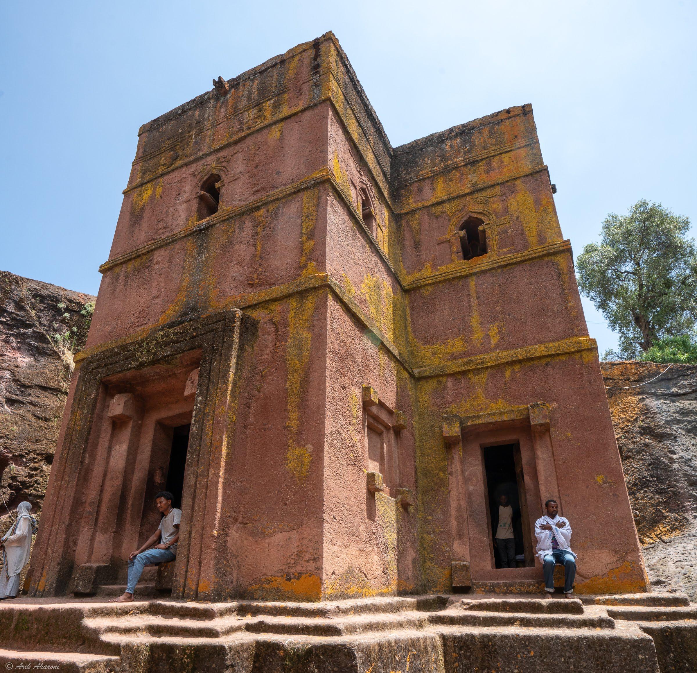 Rock hewn churches of Lalibela