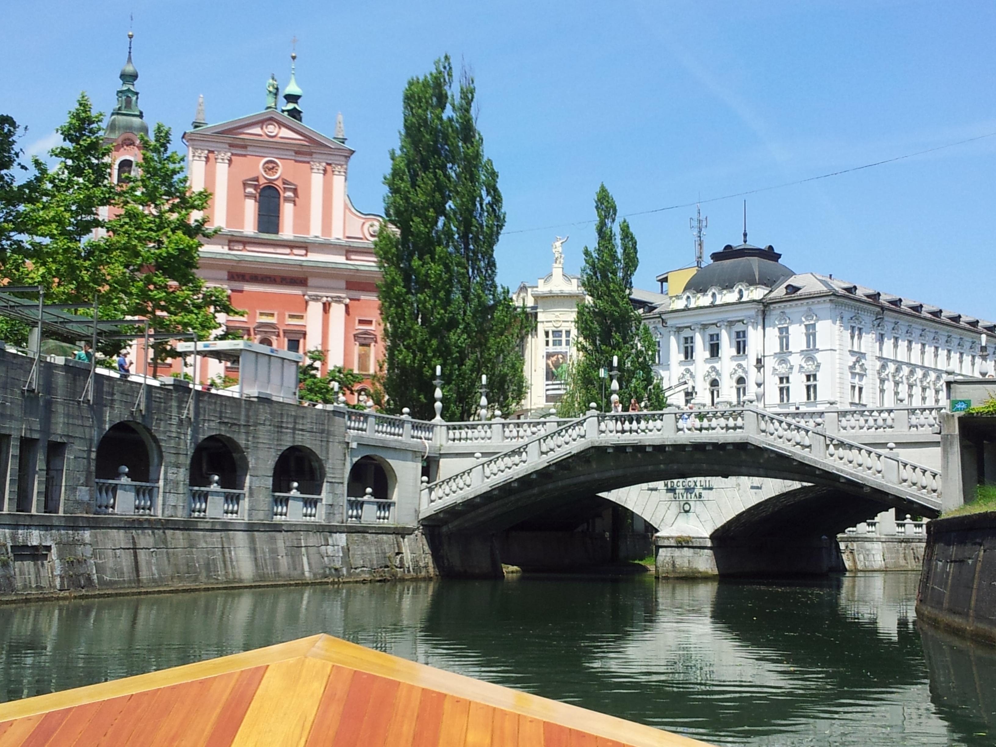 Riverbanks and Three Bridges