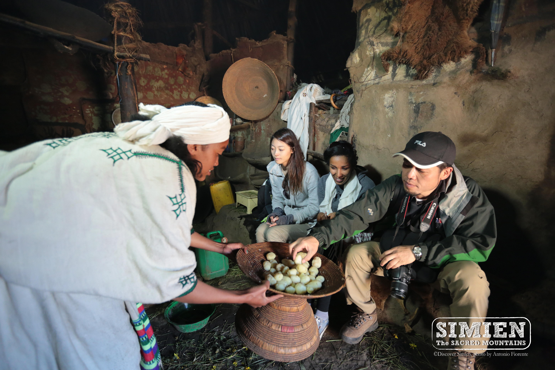 Experiencing local culture