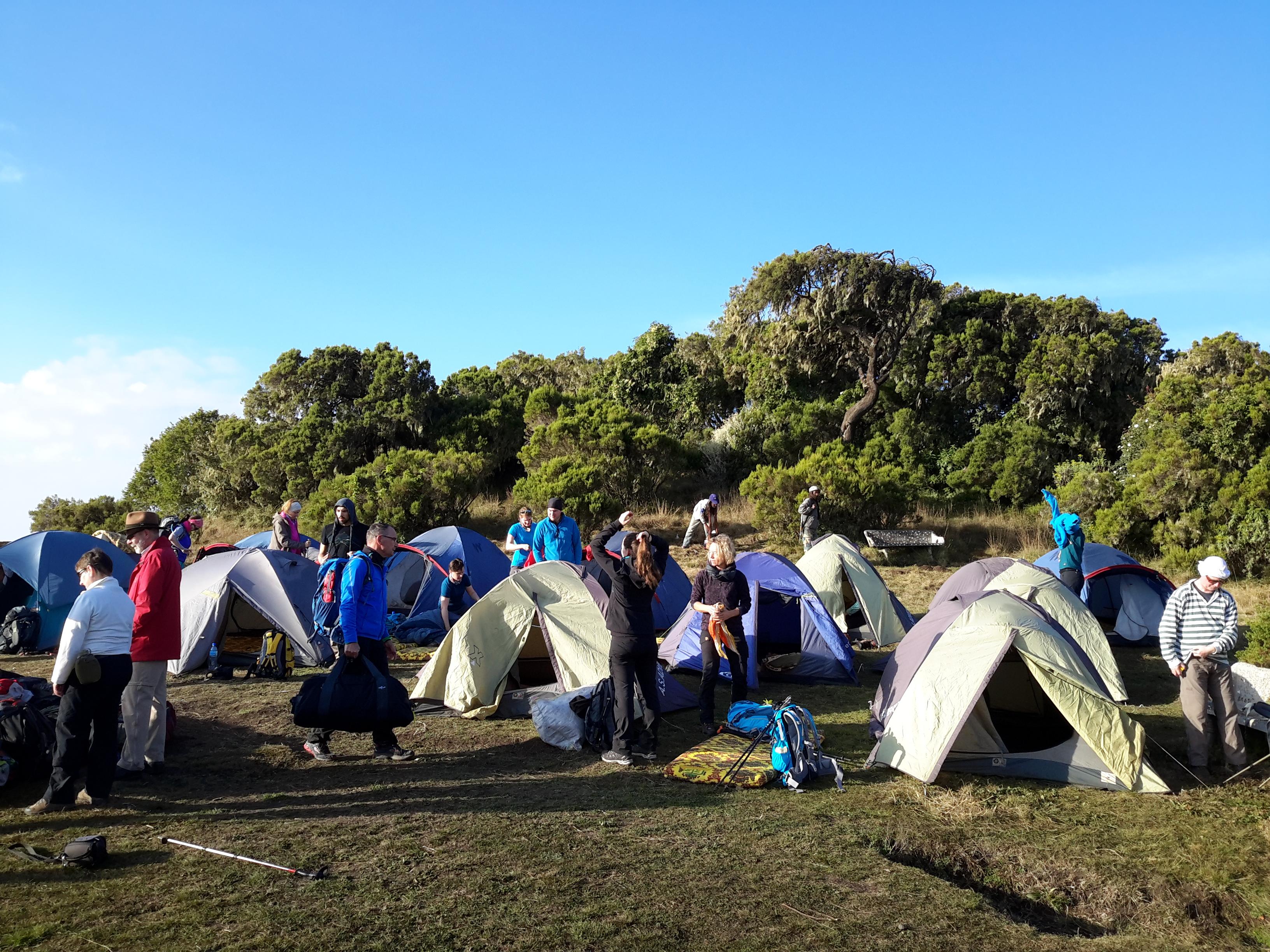 Geech campsite
